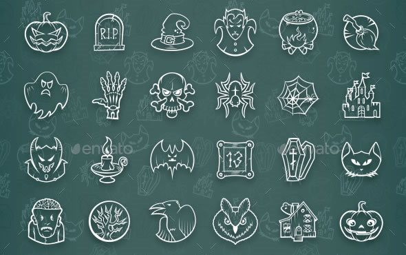 2-halloween-icon-set-envato
