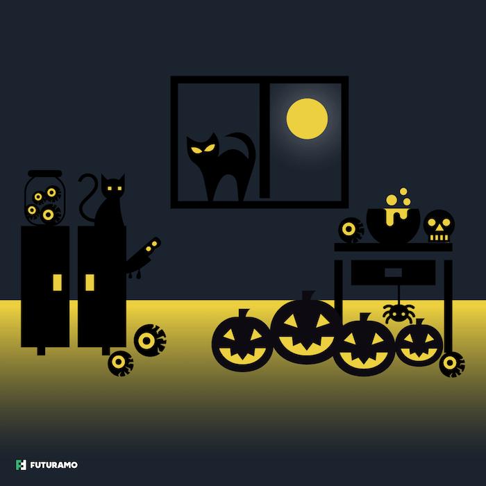 40 halloween icons