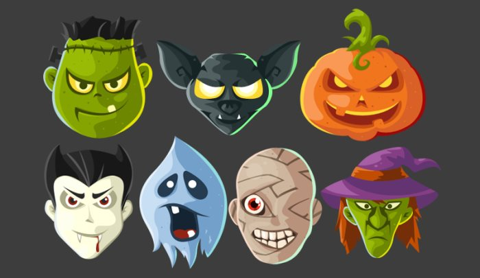 halloween icon sets