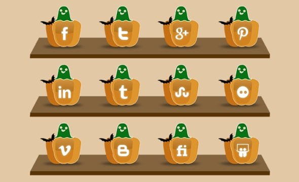 6-halloween-social-media-icon-pack