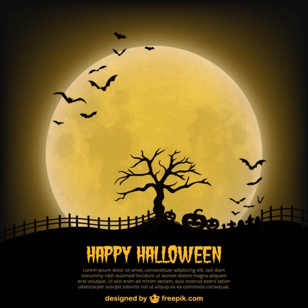 20 Free Halloween Backgrounds and Poster Templates - Super Dev ...
