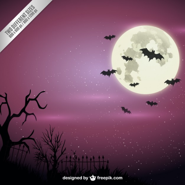 7 Spooky Halloween Background