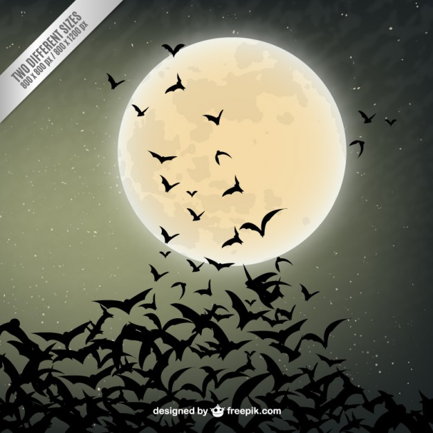 9-halloween-background-with-bats-silhouettes