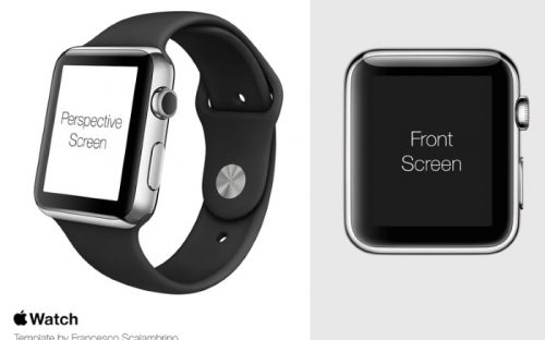 Free Apple Watch Mockup templates