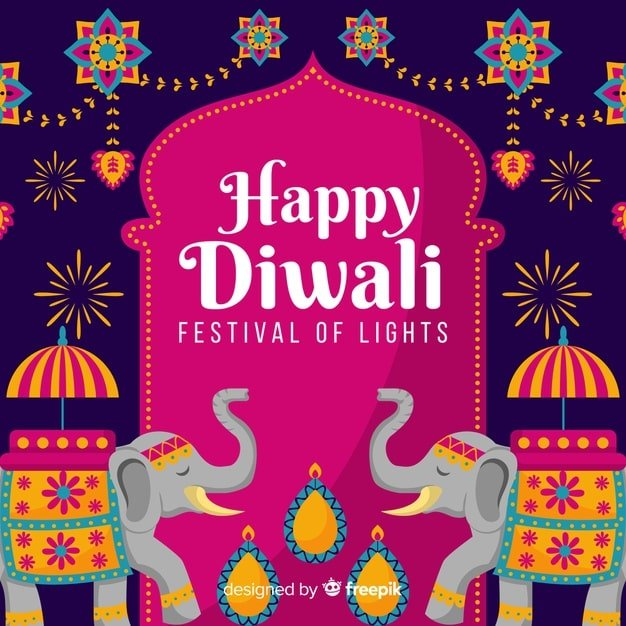 diwali festival of lights background