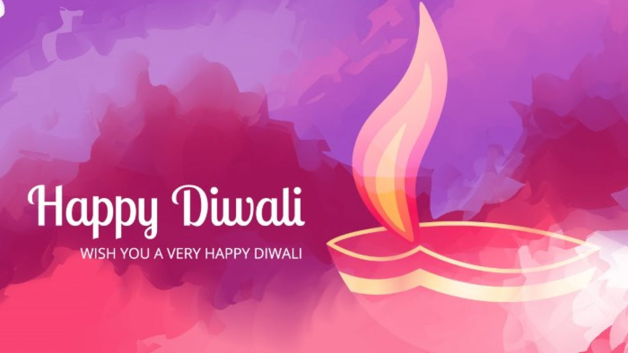 5 Free Diwali Greeting Card Templates and Backgrounds - Super Dev