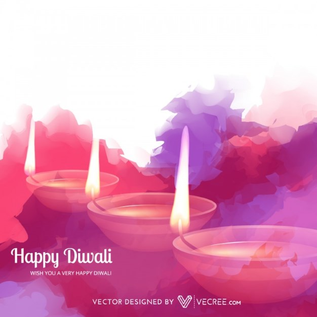 free-diwali-vector-design