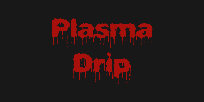 free-halloween-font-plasma-drip