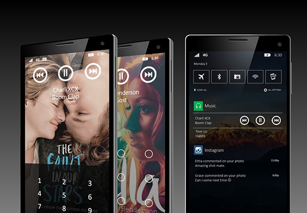 windows phone 10 design cocept 1