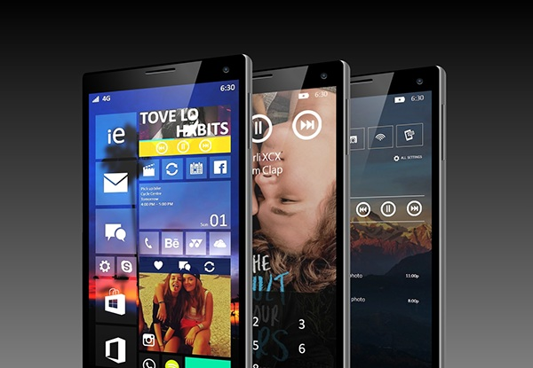 windows phone 10 design cocept 2