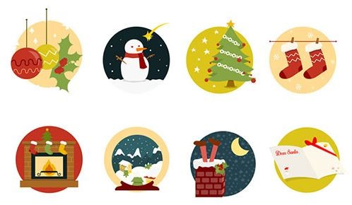 Christmas Icons Png.14 Free Christmas Icon Sets Super Dev Resources