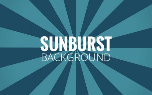 How to Create Sunburst Background in Photoshop