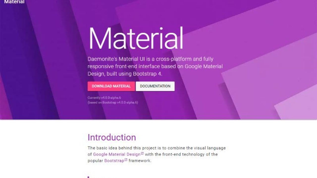 6 Best Bootstrap Material Design Themes and UI Kits for