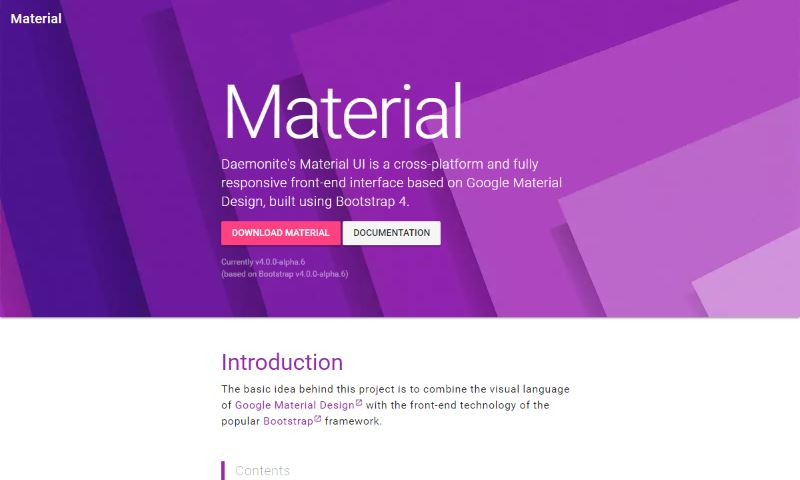 6 Best Bootstrap Material Design Themes and UI Kits for Websites