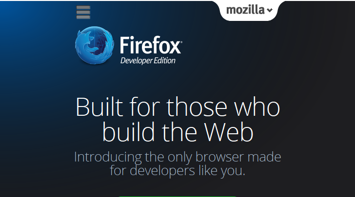 firefox developer edition browser