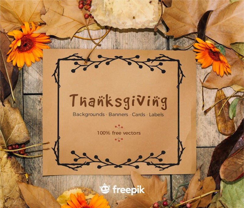 free thanksgiving vector graphics backgrounds cards