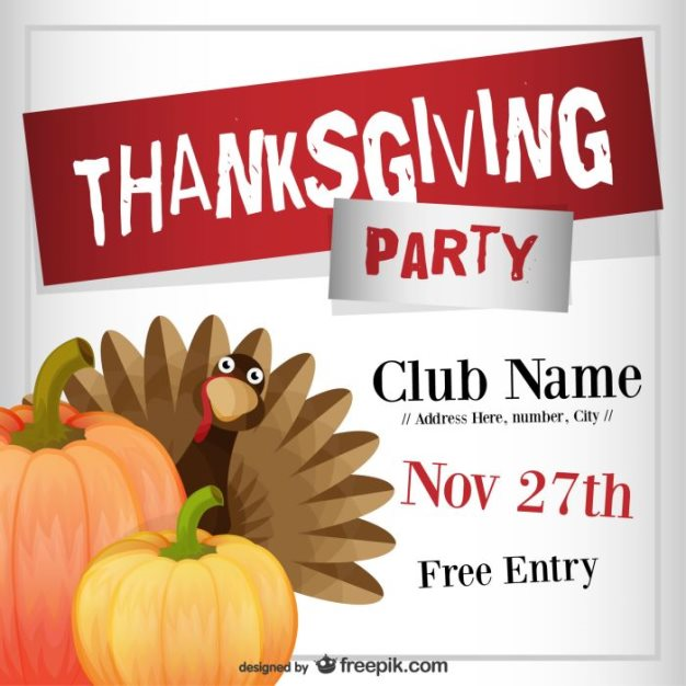 free-thanksgiving-party-flyer-template-freepik
