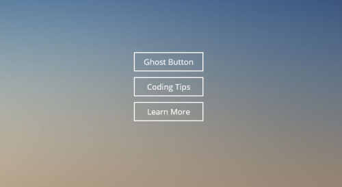 simple ghost button css