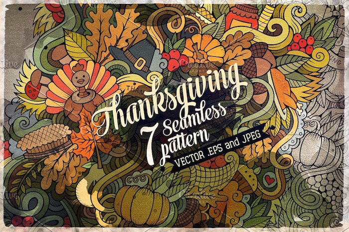 thanksgiving-seamless-patterns