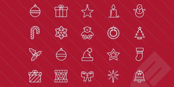 thin-vector-christmas-icons