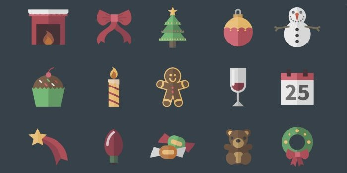 vintage-christmas-icons-collection_frepik