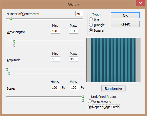 wave-filter-settings