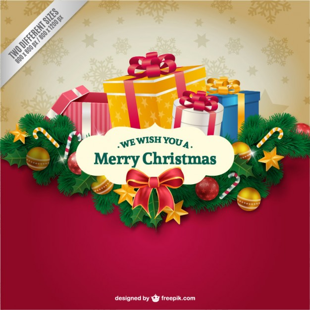 30 Free Christmas Greetings Templates Backgrounds Super Dev Resources