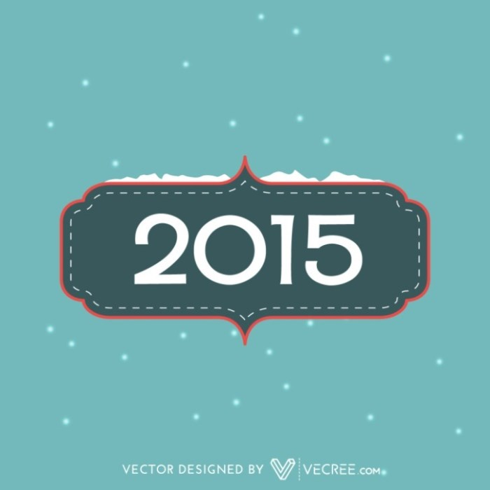 2015 card design with snow