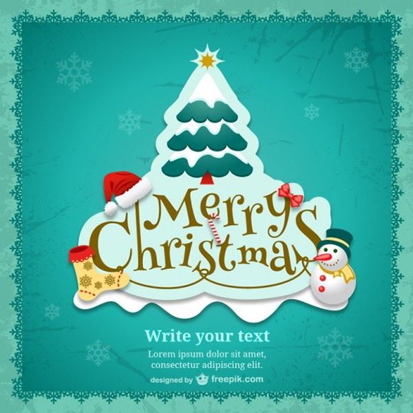 Free Christmas Greetings Templates Backgrounds Super Dev - Christmas postcard template