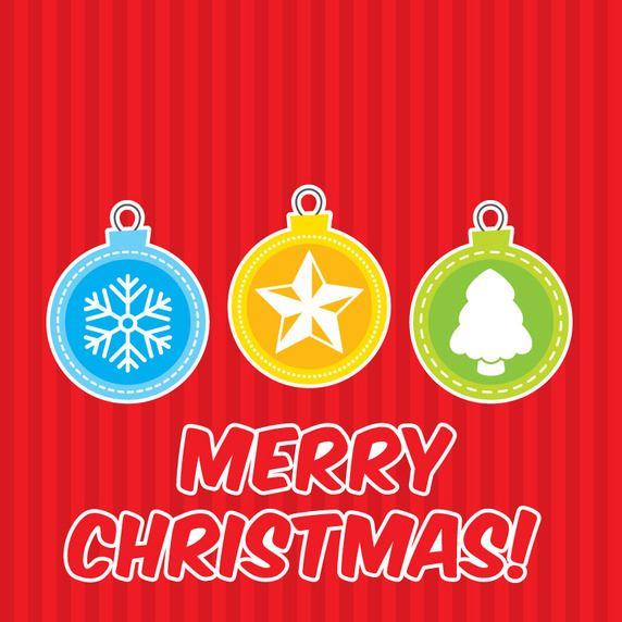5-flat-christmas-ornament-vector-card
