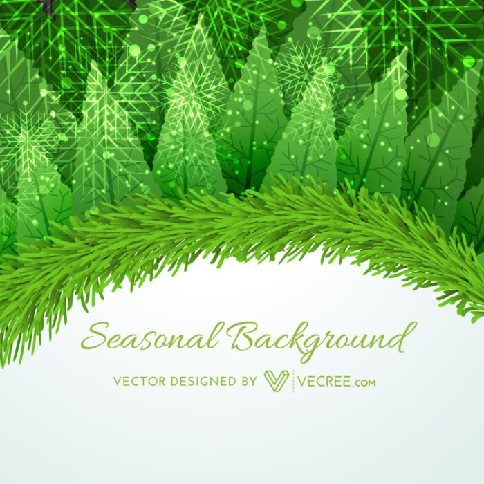 White Christmas Background Background Template With White