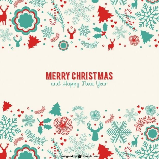 30+ Free Christmas Greetings Templates & Backgrounds - Super Dev