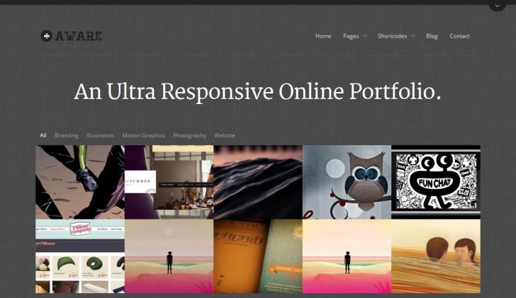 aware-portfolio-theme
