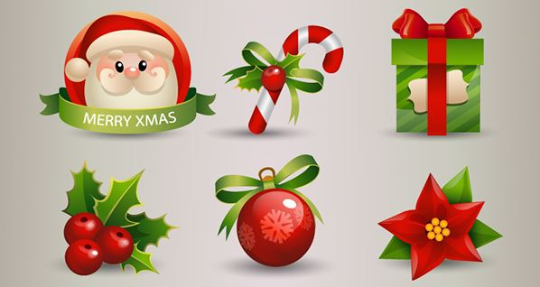 christmas-decorations-mega-vector-pack-behance