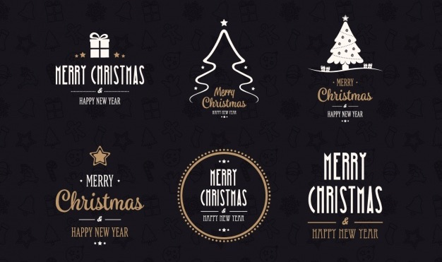 christmas-logos-collection