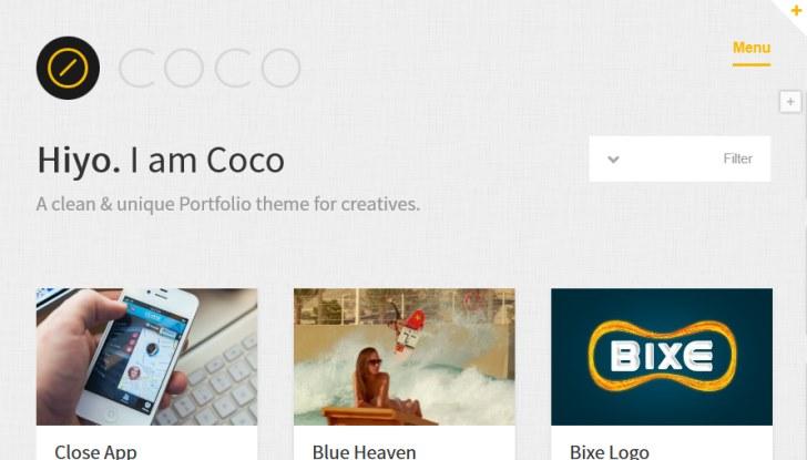 coco-clean-portfolio-theme