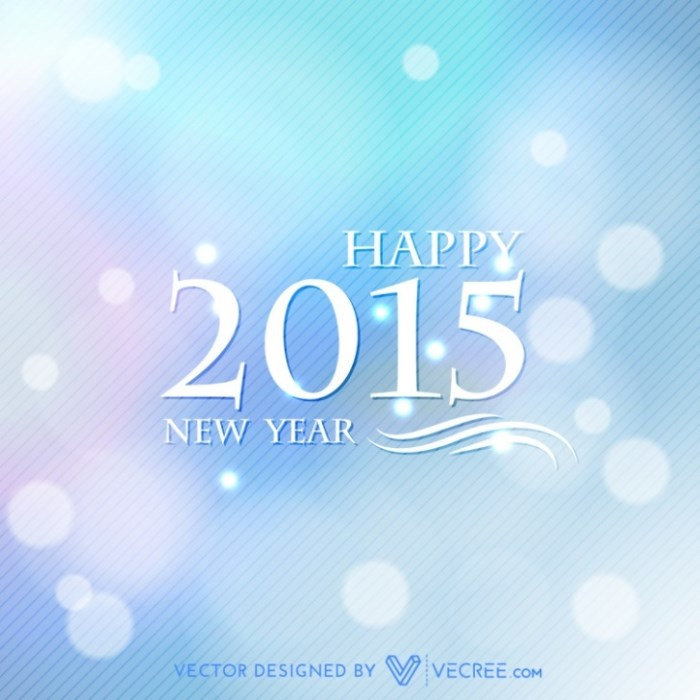 creative happy new year design free vector