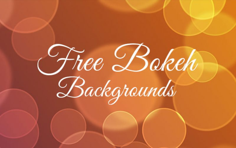 10 Free Bokeh Backgrounds