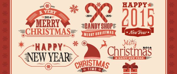 free-christmas-labels-emblems-dribble
