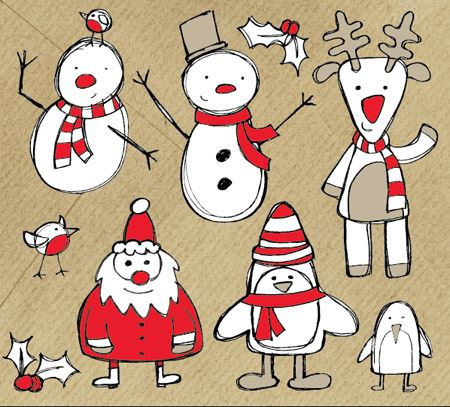 free-christmas-themed-sketchy-vector-graphics-pack-spoongraphics