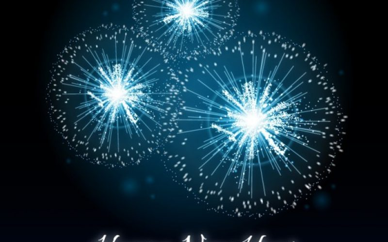 20+ Free New Year Greeting Templates and Backgrounds