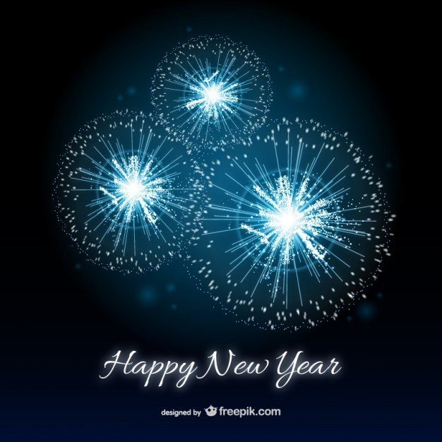 Free New Year Greeting Templates And Backgrounds  Super Dev