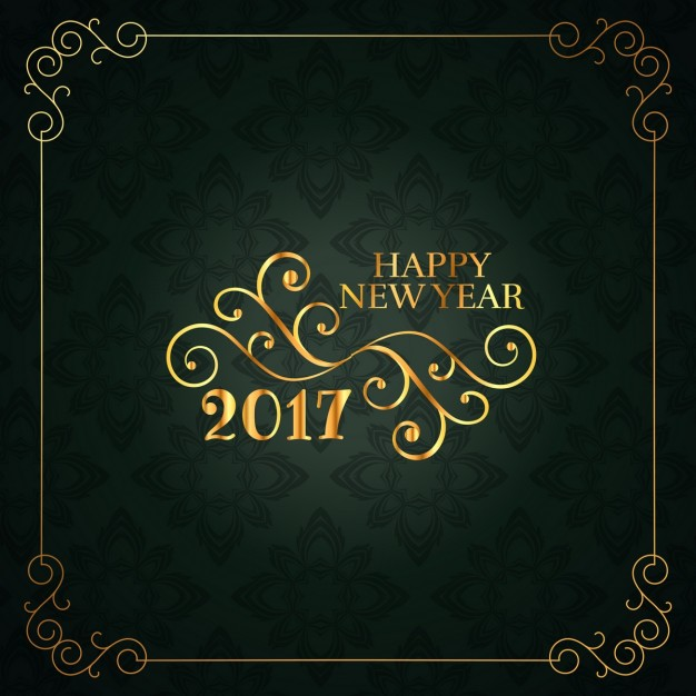 20 free new year greeting templates and backgrounds super dev happy new year floral card in vintage style m4hsunfo