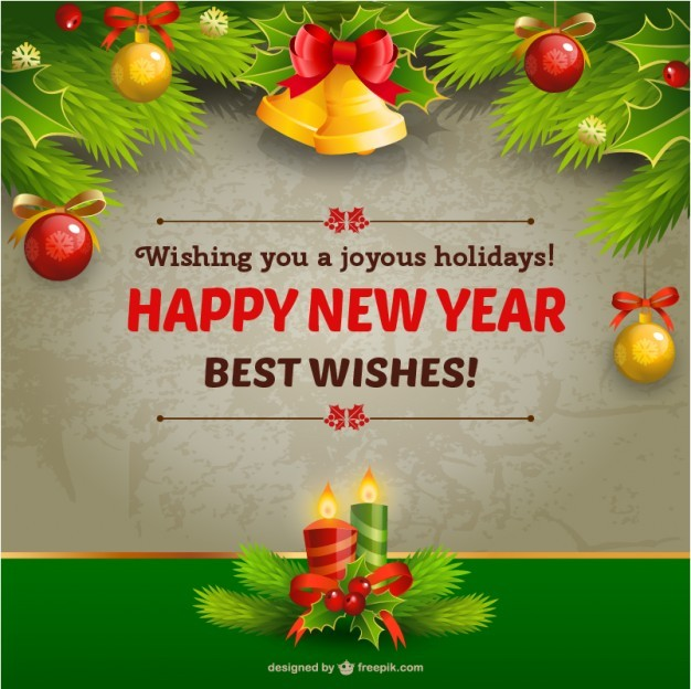 20 Free New Year Greeting Templates And Backgrounds Super Dev