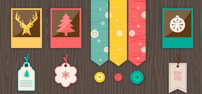 vintage-christmas-vector-elements-freepik