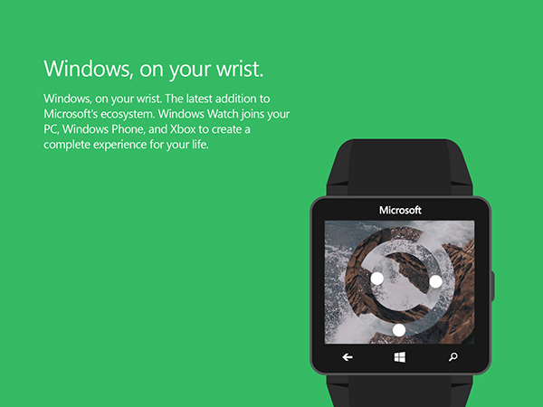 Microsoft Windows Watch 1