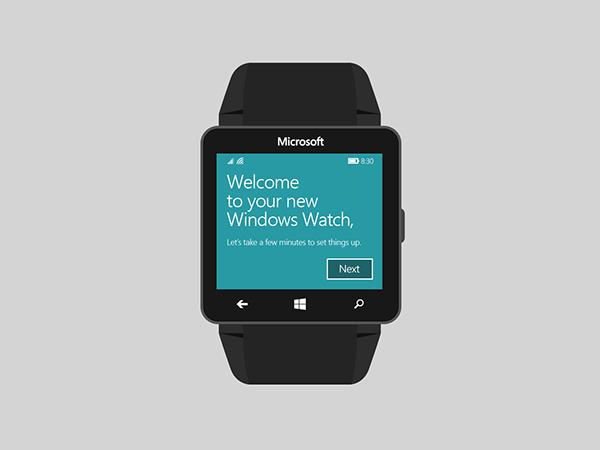 Microsoft Windows Watch 2
