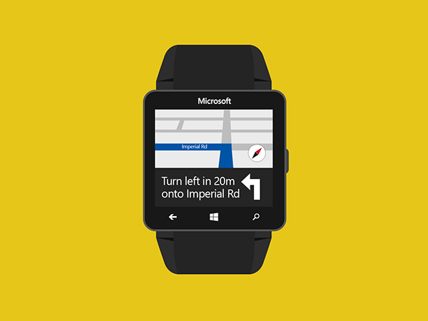 Microsoft Windows Watch 8