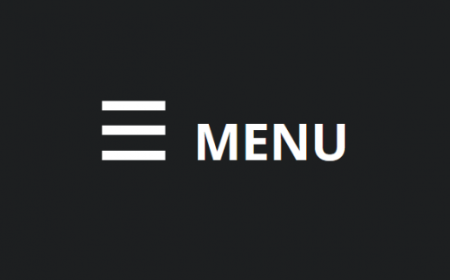 Creating a CSS only Hamburger Menu Icon (no Images or Icon Fonts)