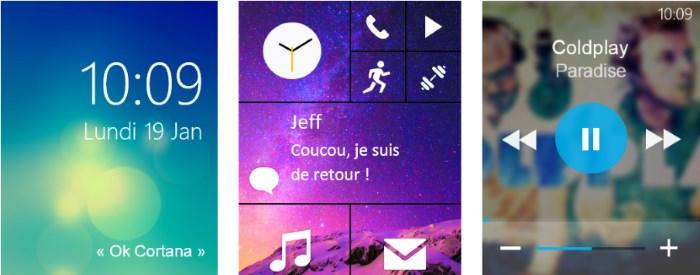 Microsoft smartwatch design